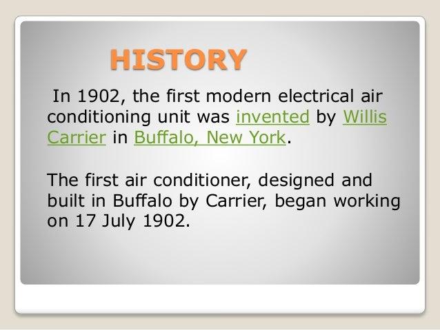 Air conditioning system presentation