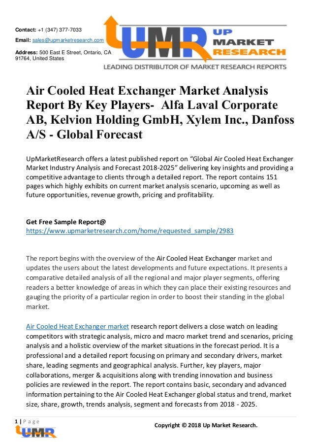 Air Cooled Heat Exchanger Market Analysis Report By Key