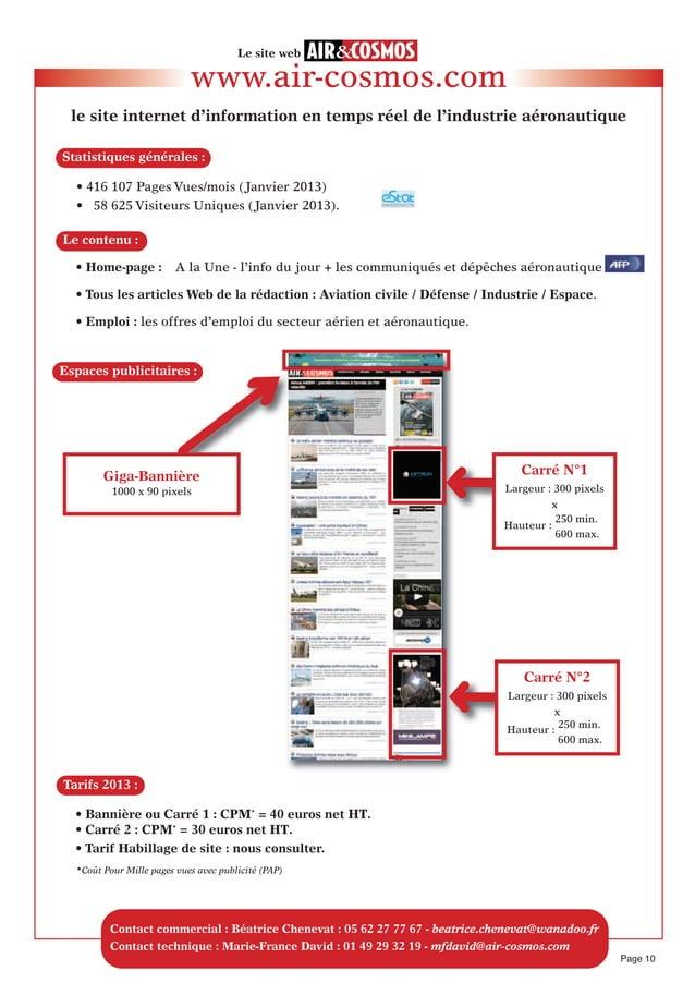 • Home-page: A la Une - l'info du jour + les communiqués et dépêches aéronautique• Tous les articles Web de la rédaction ...