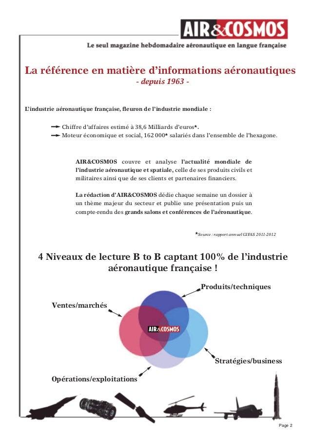 Stratégies/businessLa référence en matière d'informations aéronautiques- depuis 1963 -L'industrie aéronautique française, ...