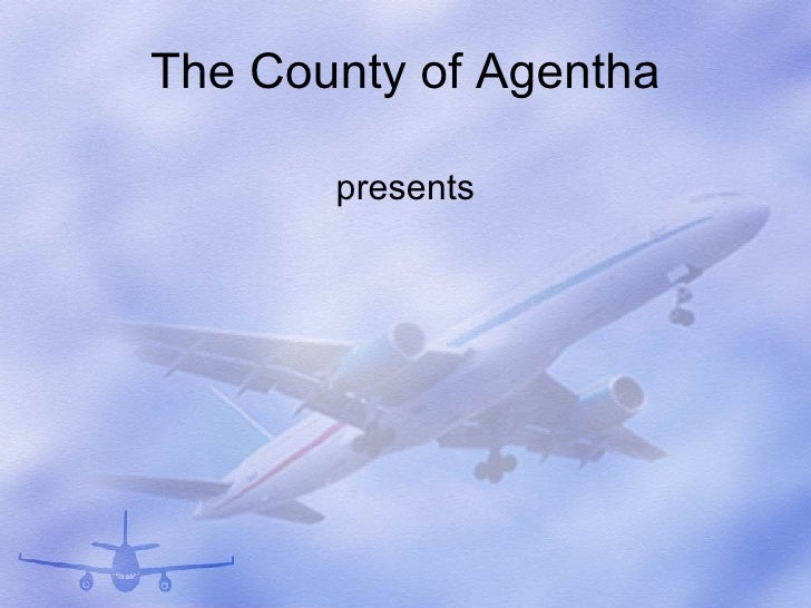 Aircraft Powerpoint Presentation Template