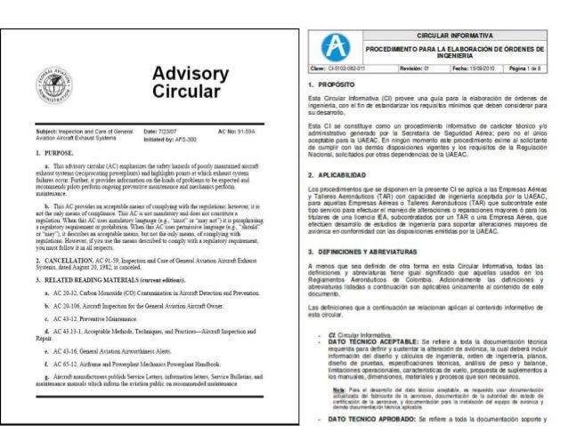 aircraft maintenance and manuals week 2 rh slideshare net aircraft component maintenance manuals for sale Aircraft Maintenance Department