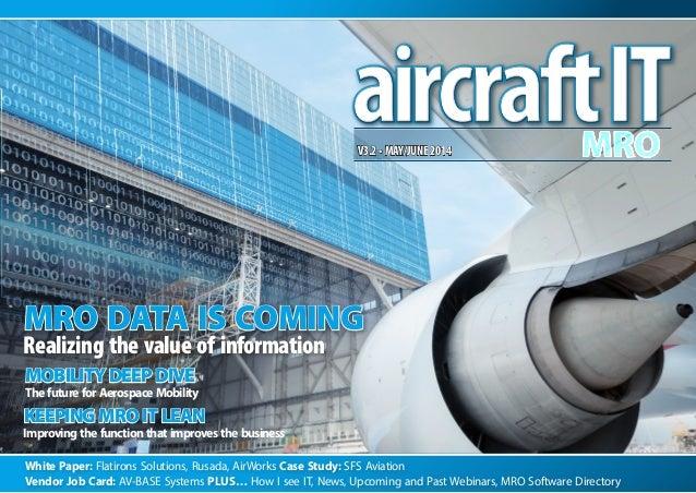 White Paper: Flatirons Solutions, Rusada, AirWorks Case Study: SFS Aviation Vendor Job Card: AV-BASE Systems PLUS… How I s...