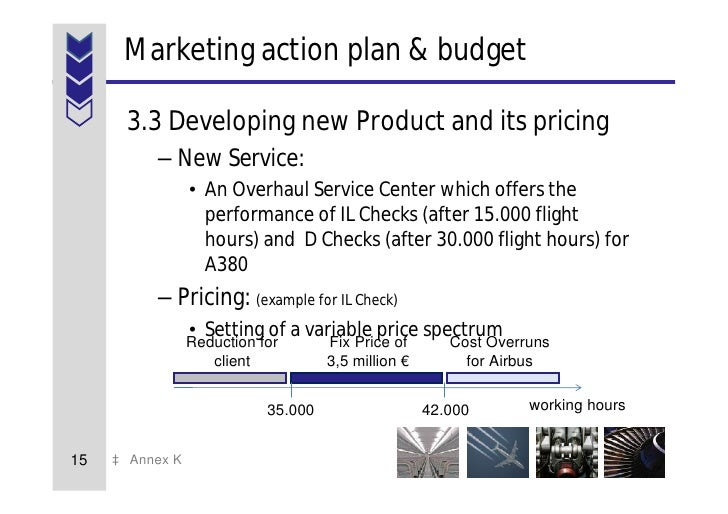 free marketing plan sample of a new service at airbus by www marketi