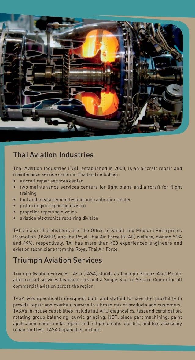 aircraft service and maintenance hub