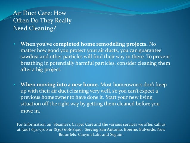 Air Duct Care: How Often Do They Really Need Cleaning?