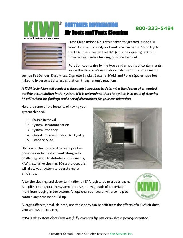 Ventilation Ducts Information : Kiwi air duct cleaning and vent by