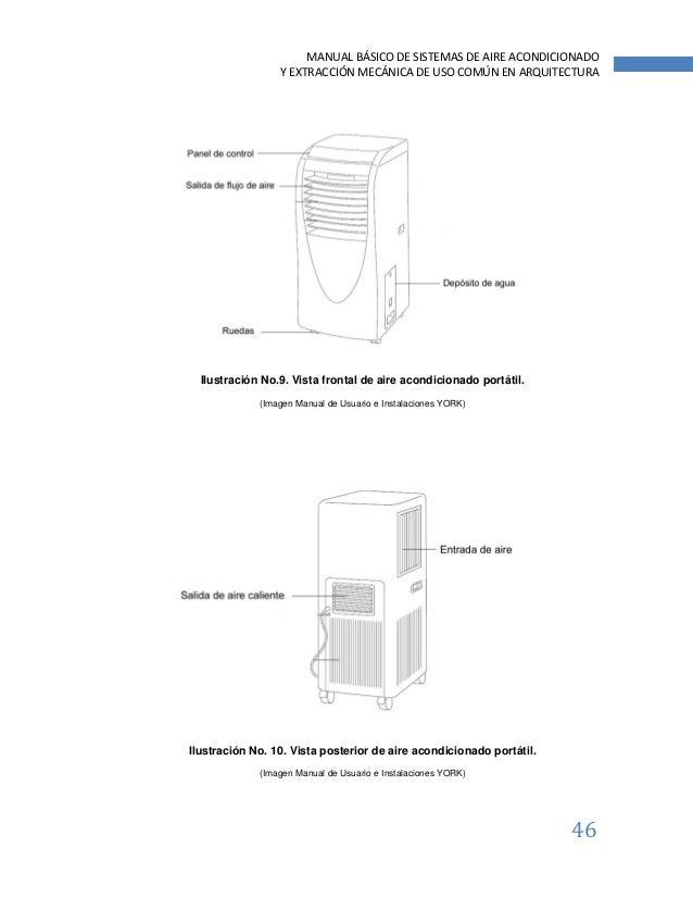 Manual b sico de sistemas de aire acondicionado y for Manual aire acondicionado