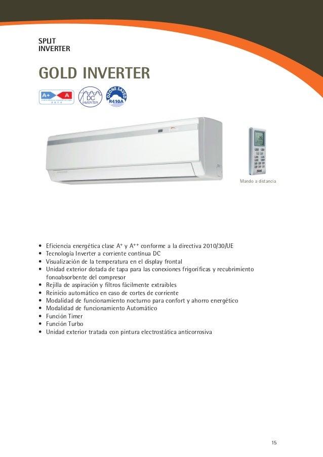 Aire acondicionado split ferroli gold inverter 9000 con for Cargar aire acondicionado casa