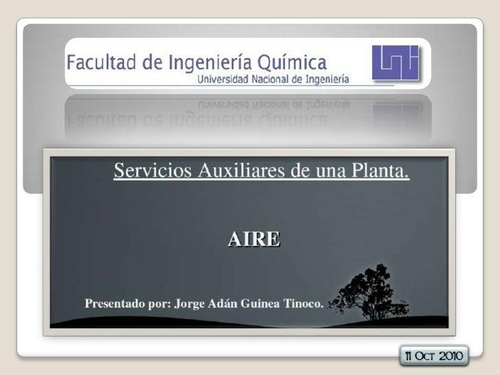 Aire comprimido uso industrial