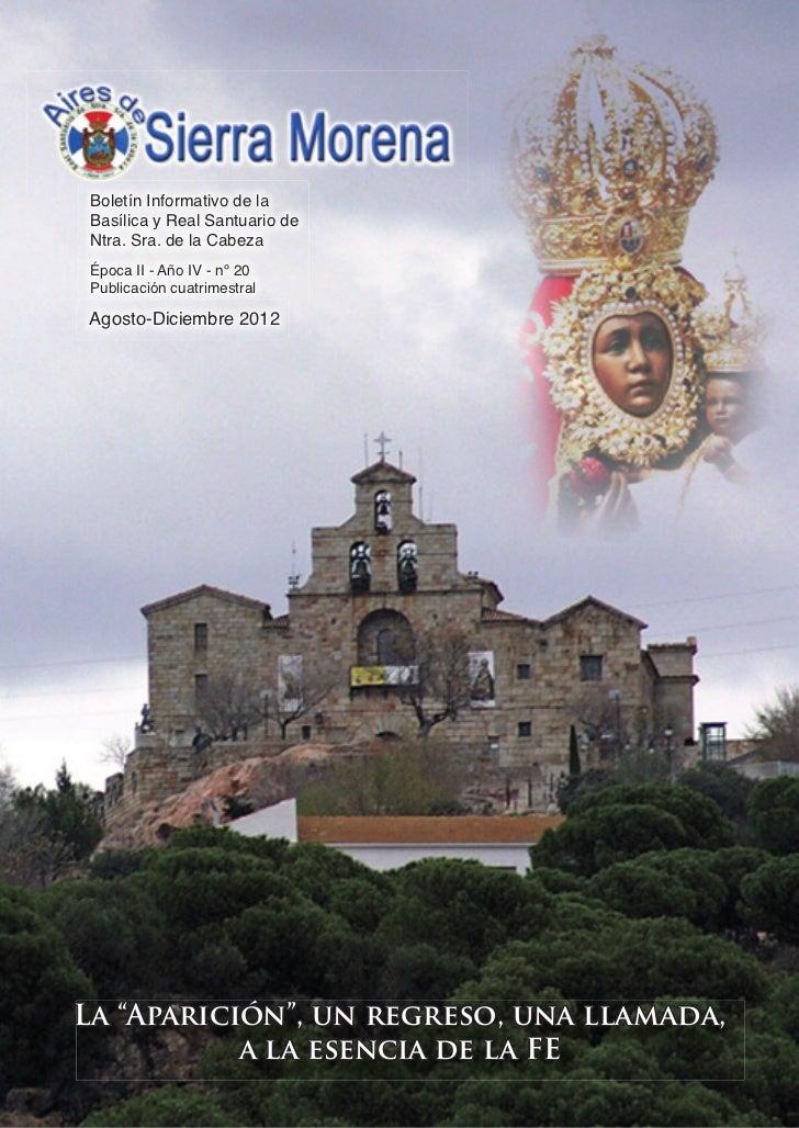 Aires de Sierra MorenA                                 1 Boletín Informativo de la Basílica y Real Santuario de Ntra. Sra....