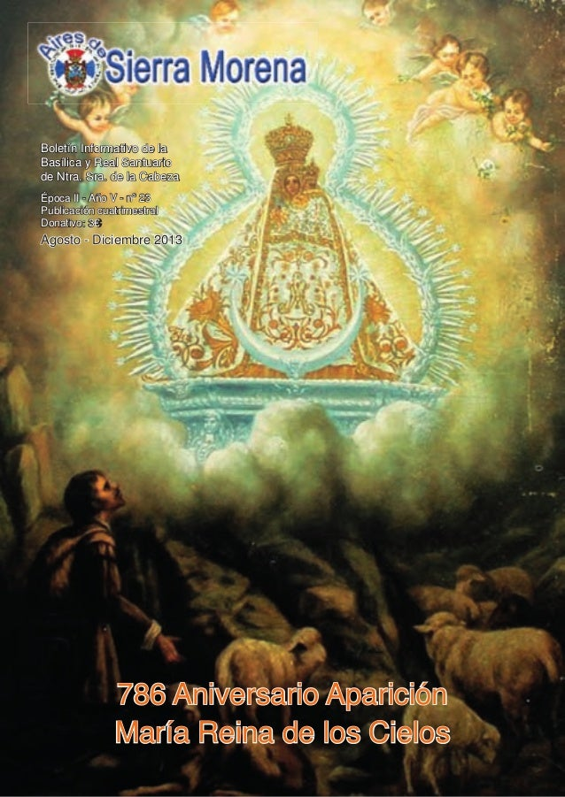 Aires de Sierra MorenA  1  Boletín Informativo de la Basílica y Real Santuario de Ntra. Sra. de la Cabeza Época II - Año V...