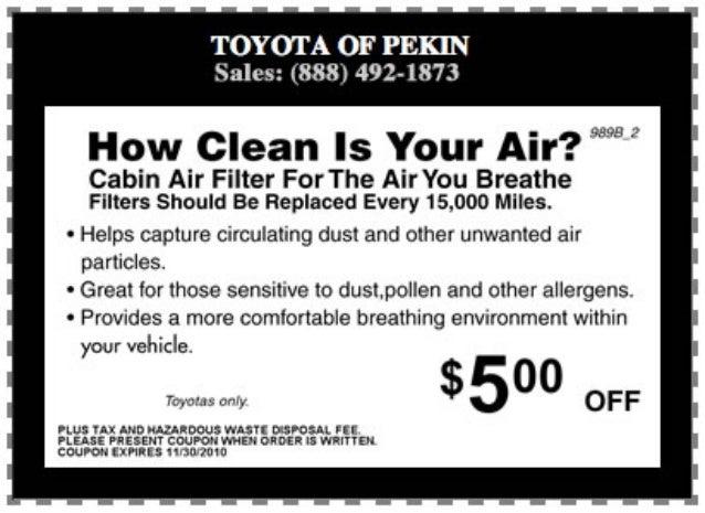 Air Filter Change North Pekin IL