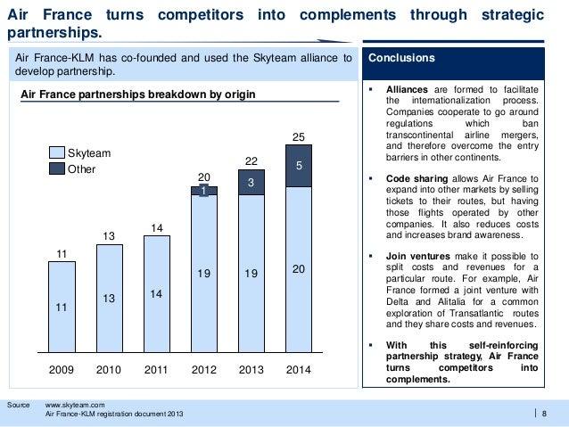Air france international strategy analysis (2014)