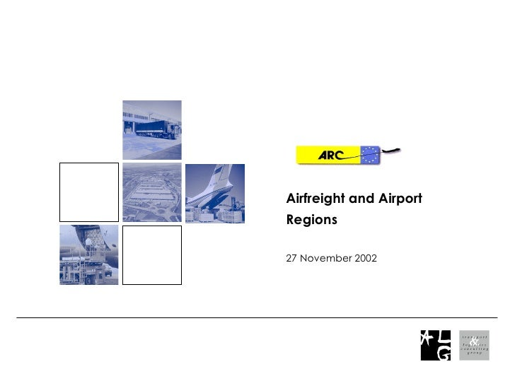 Airfreight and Airport Regions 27 November 2002