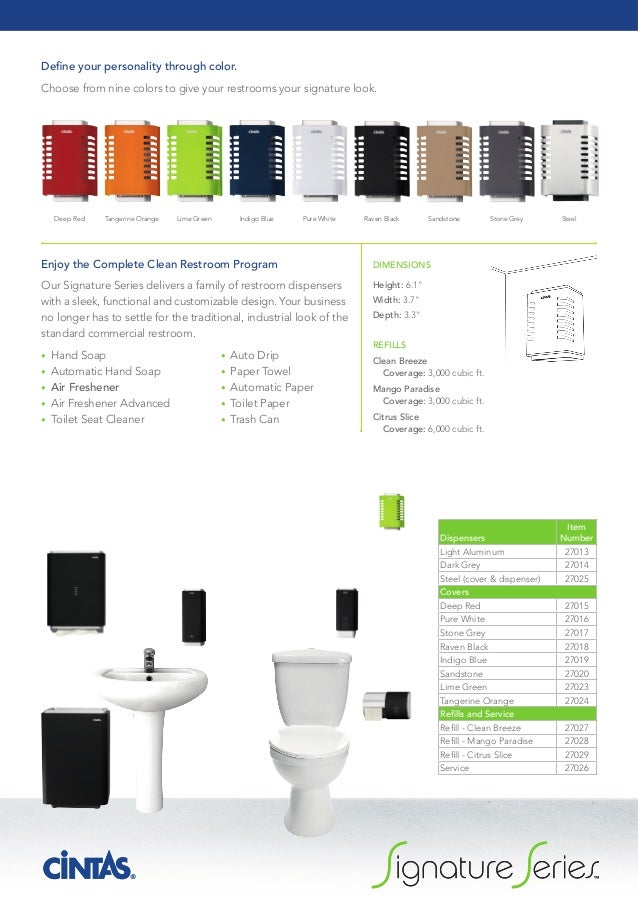 Signature Series Air Freshener