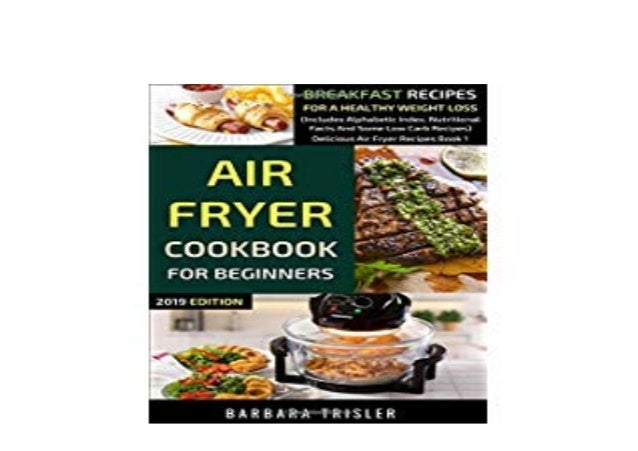 Hardcover Air Fryer Cookbook For Beginners Breakfast Recipes For A