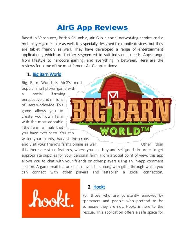 Airg Com Big Barn World - BARN
