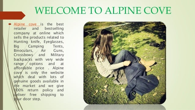 WELCOME TO ALPINE COVE  Alpine cove is the best retailer and bestselling company at online which sells the products relat...