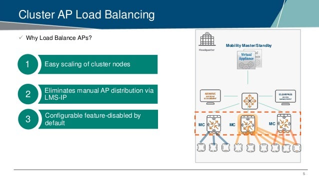 Airheads Tech Talks: Advanced Clustering in AOS 8 x