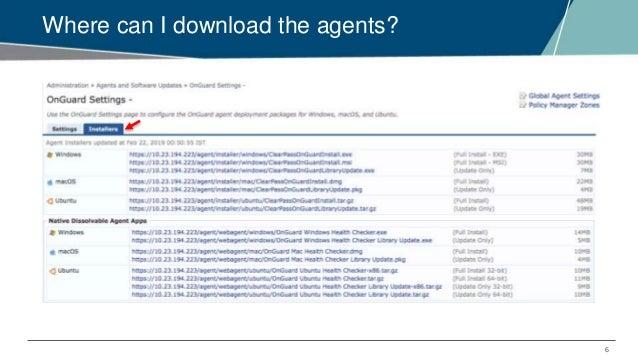 Airheads Tech Talks: Understanding ClearPass OnGuard Agents