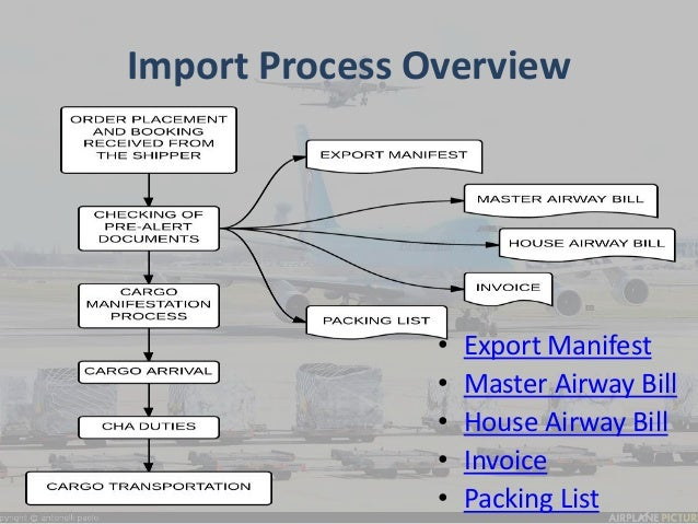 Summer Training Program Air Import Process And