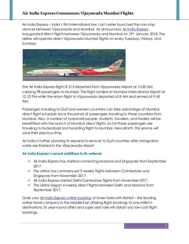airindia online booking
