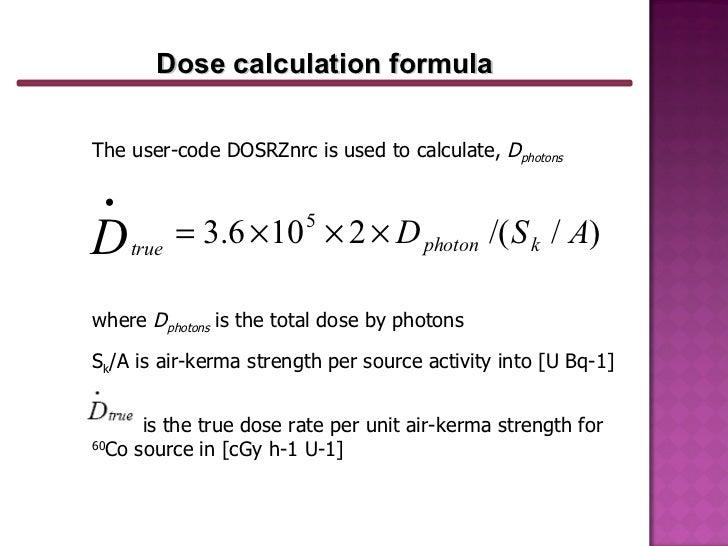drug dose calculation formula pdf