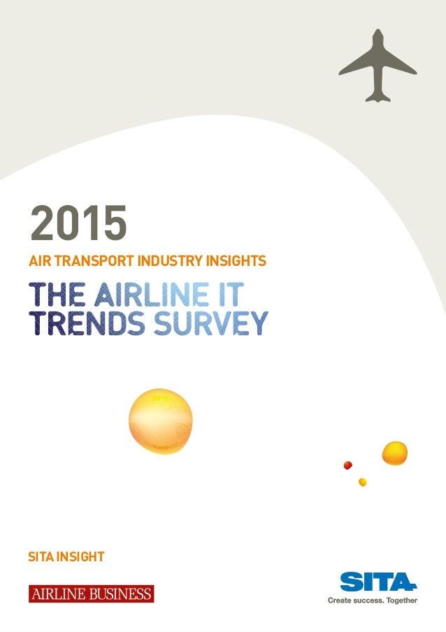 Aviation industry IT trends 2015