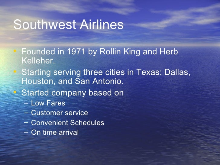 southwest airlines organizational culture case analysis Southwest airlines organizational culture  southwest airlines case study operation (b) consistent low fare has been always an advantage for southwest airline.