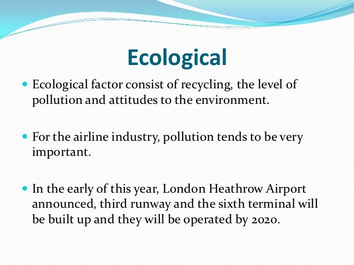 an introduction to the european airline industry Transcript of pestle analysis airplane industry government stability political organisations (opec)  introduction pestel analysis of the airline industry.