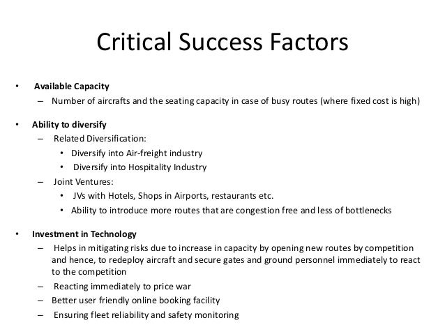 Key Success Factors in the Hotel Industry