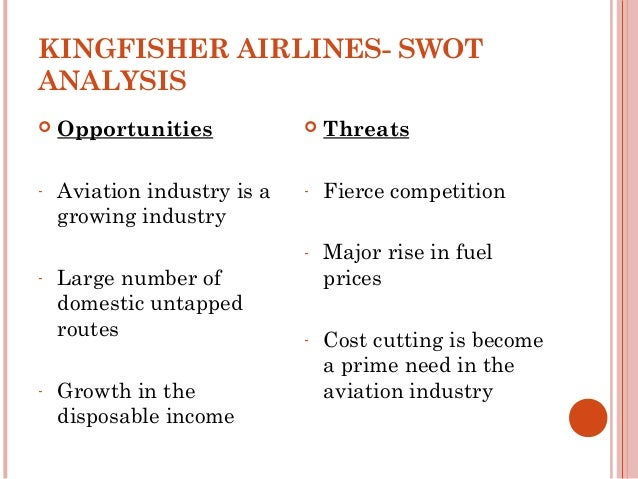 swot analysis of the uk airline industry A business analysis of cathay pacific airways ltd, an international airline, is provided, focusing on its strengths, weaknesses, opportunities for improvement and.