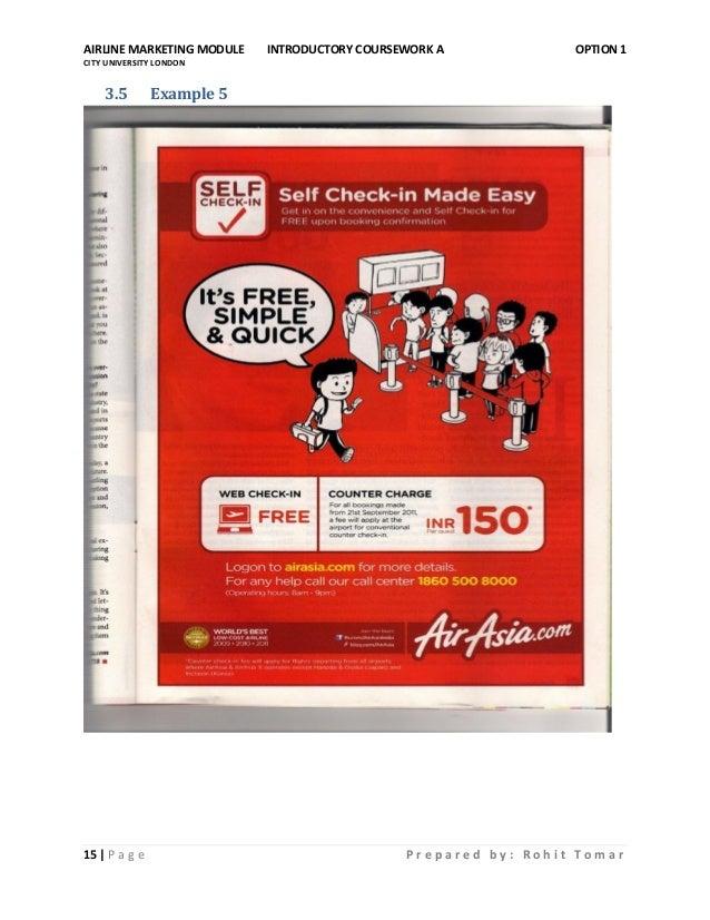 Airline marketing dissertation