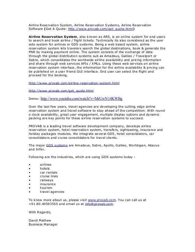 Airline Reservation System, Airline Reservation Systems, Airline Reservation Software (Get A Quote: http://www.provab.com/...