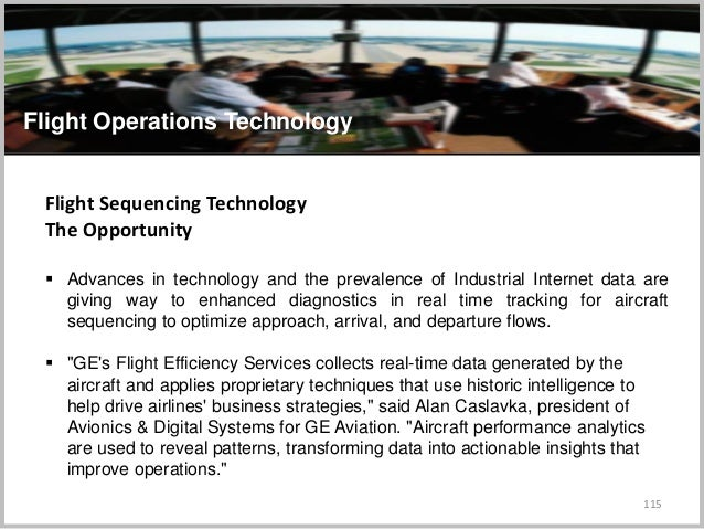 115 Flight Operations Technology Flight Sequencing Technology The Opportunity  Advances in technology and the prevalence ...