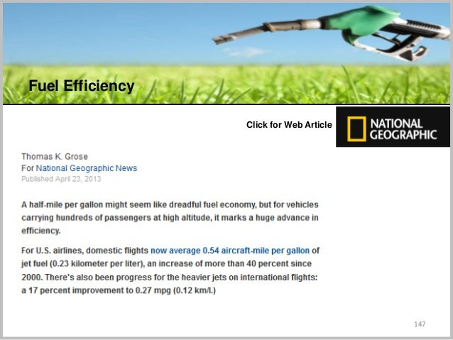 147 C Click for Web Article Fuel Efficiency