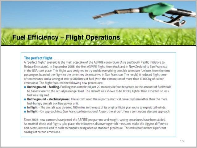 156 Fuel Efficiency – Flight Operations C