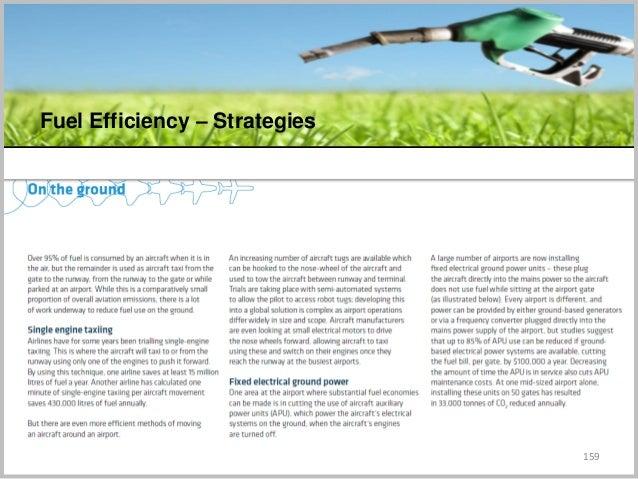 159 Fuel Efficiency – Strategies C
