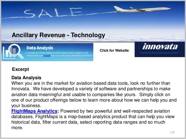 175 C Click for Website Excerpt Data Analysis When you are in the market for aviation based data tools, look no further th...
