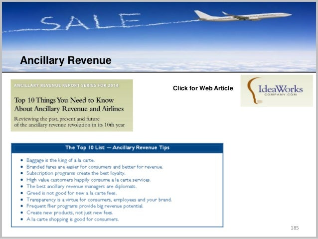 185 Ancillary Revenue C Click for Web Article