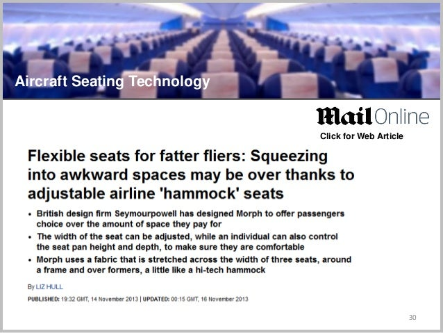 30 Aircraft Seating Technology Click for Web Article