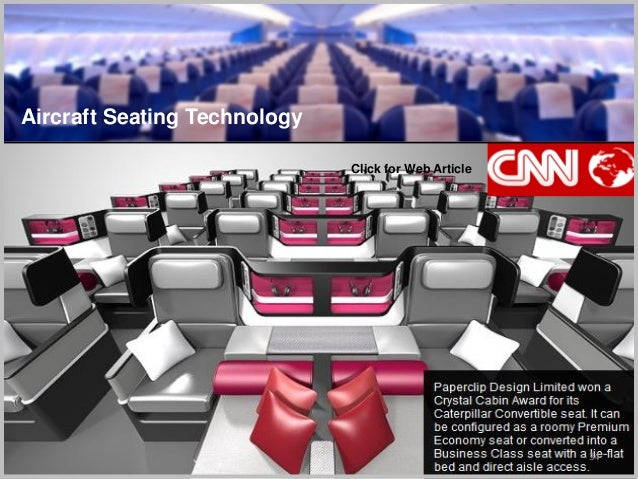 34 Aircraft Seating Technology Click for Web Article