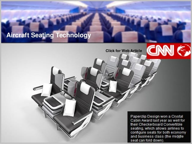 35 Aircraft Seating Technology Click for Web Article