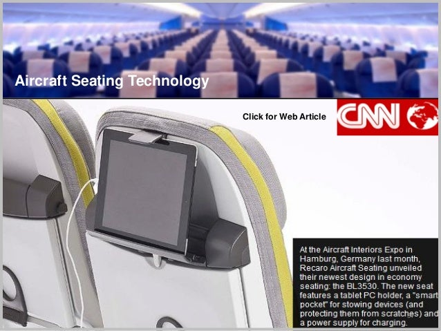 37 Aircraft Seating Technology Click for Web Article
