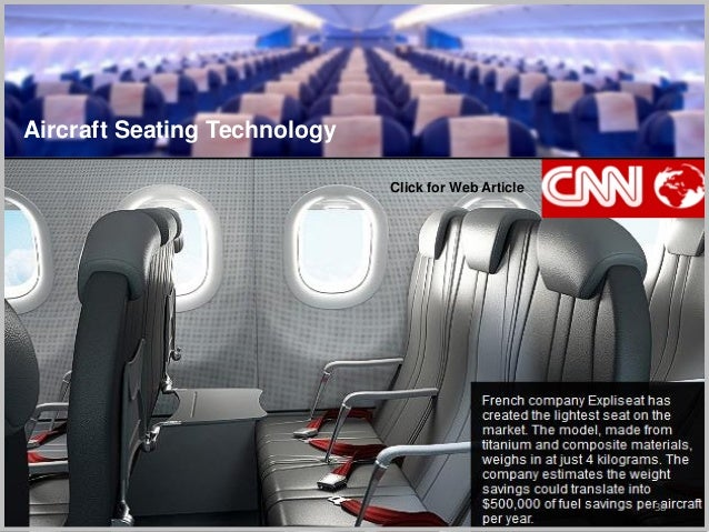 38 Aircraft Seating Technology Click for Web Article