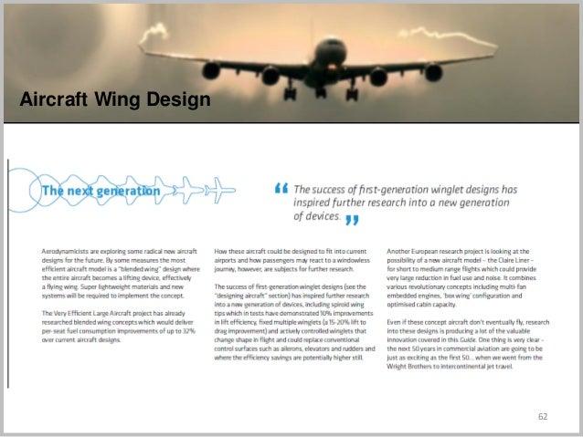 62 Aircraft Wing Design