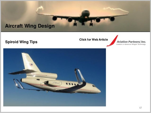 67 Aircraft Wing Design Spiroid Wing Tips Click for Web Article