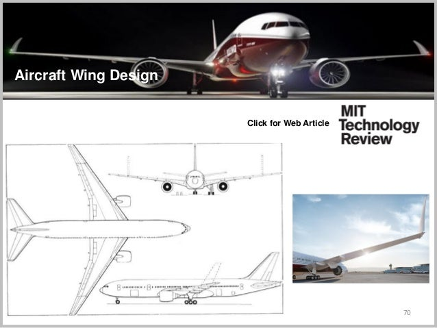 70 Click for Web Article Aircraft Wing Design
