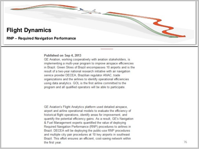 76 Flight Dynamics RNP – Required Navigation Performance